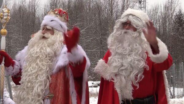 Дед Мороз и Иоулупукки - Sputnik Азербайджан
