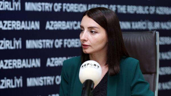 Leyla Abdullayeva - Sputnik Azərbaycan