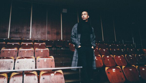Мужчина в пустом зрительном зале - Sputnik Азербайджан