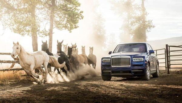 Rolls-Royce Cullinan - Sputnik Азербайджан