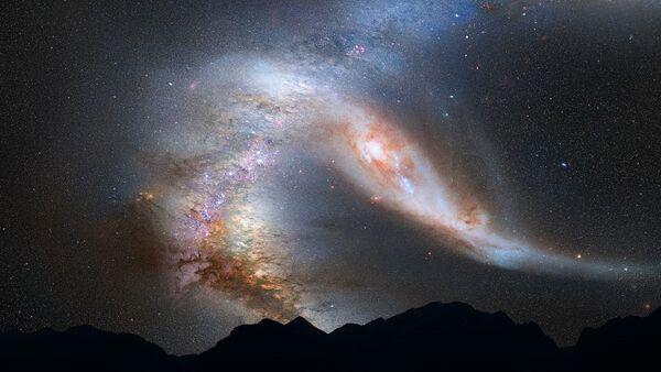 Qalaktika, Andromeda, Süd yolu - Sputnik Azərbaycan