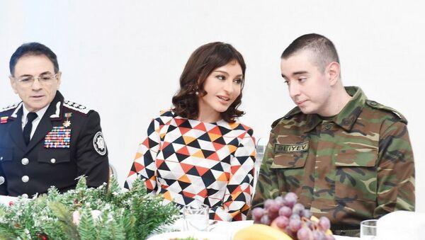 DTX-nın hərbi hissəsində bayram tədbiri keçirilib  - Sputnik Azərbaycan