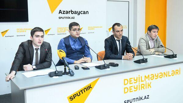 Пресс-конференция на тему Региональная безопасность в 2018 году и тренды на 2019 год - Sputnik Azərbaycan