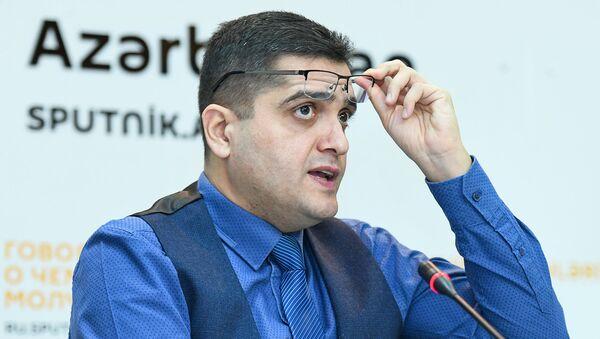 Эксперты в ходе обсуждения региональной безопасности в 2019 году в мультимедийном пресс-центре Sputnik Азербайджан - Sputnik Азербайджан