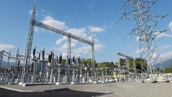 Высоковольтные линии электропередач - Sputnik Азербайджан