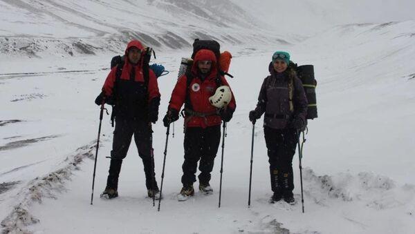 Последное фото альпинистов - Sputnik Азербайджан
