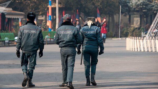 Полиция Армении - Sputnik Азербайджан