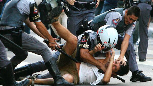 Braziliya polisi - Sputnik Azərbaycan
