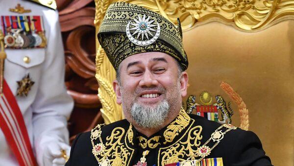 Malayziya kralı V Məhəmməd - Sputnik Azərbaycan