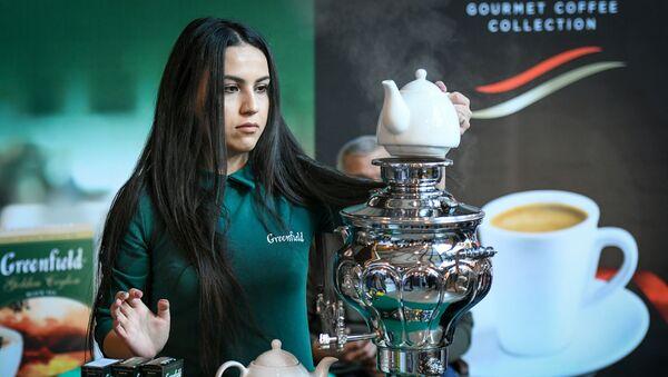 Фестиваль кофе и чая в Баку - Sputnik Азербайджан
