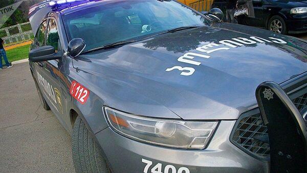 Полицейская машина в Грузии - Sputnik Азербайджан