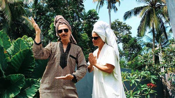 Известный бакинец, дизайнер, стилист Влад Лисовец женился на принцессе Шри-Ланки - Sputnik Азербайджан