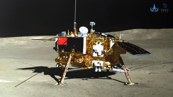 Китайская межпланетная станция Чанъэ-4 на обратной стороне Луны - Sputnik Azərbaycan