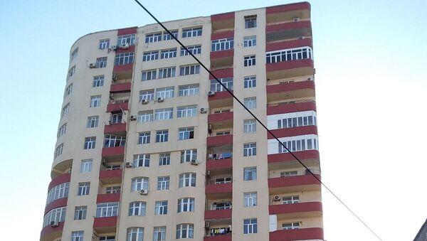 Новостройка, в которой находится квартира Афсаны Гаракишиевой - Sputnik Азербайджан