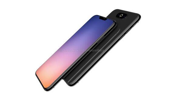 Предполагаемый дизайн iPhone XI - Sputnik Азербайджан