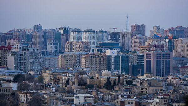 Вид на Баку, фото из архива - Sputnik Azərbaycan