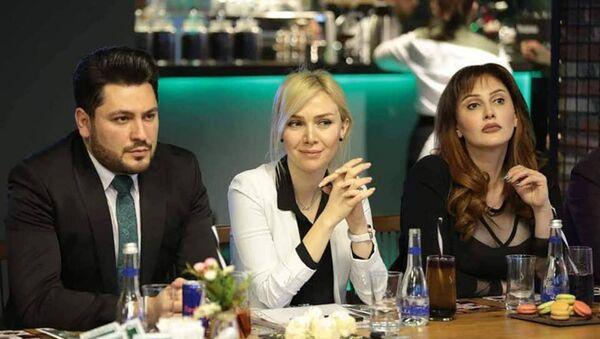 Пресс-конференция кинематографического конкурса красоты Sinema Güzeli (Красавица кино) - Sputnik Азербайджан