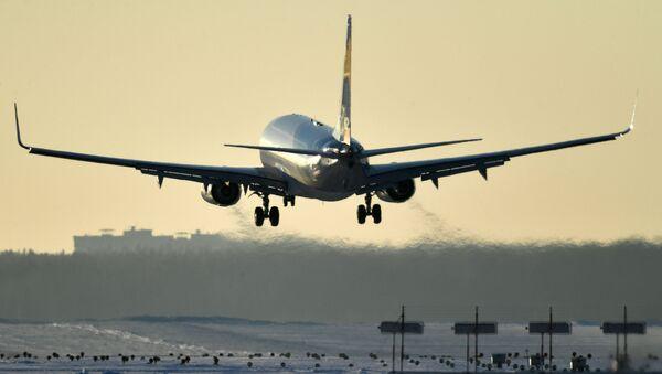 Самолет Airbus A320 авиакомпании Аэрофлот  - Sputnik Азербайджан