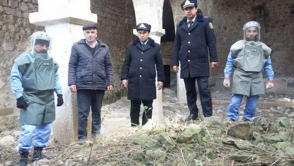 Саперы нашли боеголовку в церкви в Азербайджане - Sputnik Азербайджан
