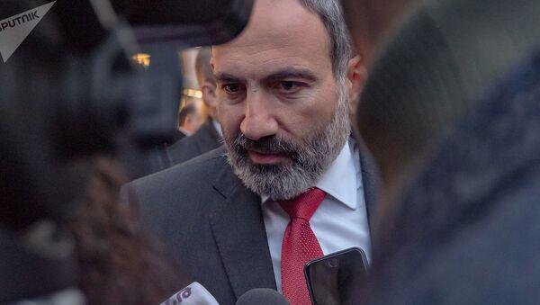И.о. премьер-министра Никол Пашинян ответил на вопросы журналистов (7 января 2019). Еревaн - Sputnik Азербайджан