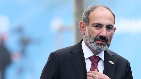 Ermənistanın baş naziri Nikol Paşinyan - Sputnik Azərbaycan