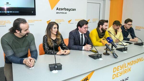 Презентация клипа Не уходи - Sputnik Azərbaycan