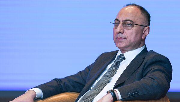 Qida Təhlükəsizliyi Agentliyinin sədri Qoşqar Təhməzli - Sputnik Азербайджан