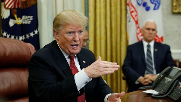 ABŞ prezidenti Donald Tramp - Sputnik Azərbaycan