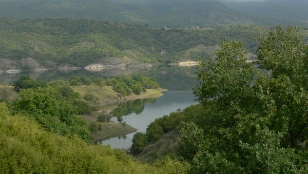Сарсангское водохранилище - Sputnik Азербайджан