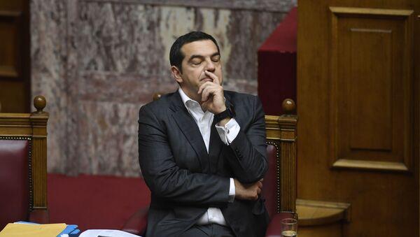 Aleksis Tsipras - Sputnik Azərbaycan