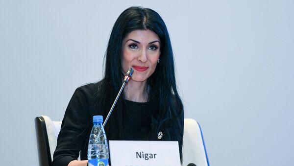 Руководитель отдела маркетинга и коммуникаций BCC Нигяр Арпадараи - Sputnik Азербайджан