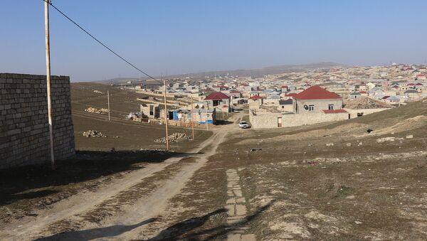 Abşeron rayonunun Qobu qəsəbəsi - Sputnik Azərbaycan