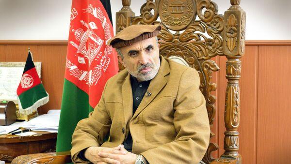 Первый заместитель председателя Мешрано Джирги (верхней палаты афганского парламента) Мохаммад Изидьяр - Sputnik Азербайджан