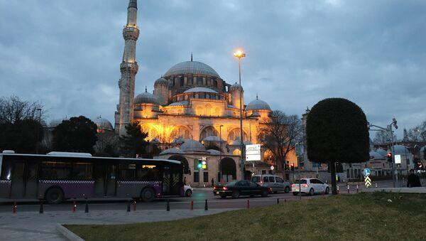 İstanbul, Şahzadə Mehmet məscidi - Sputnik Azərbaycan