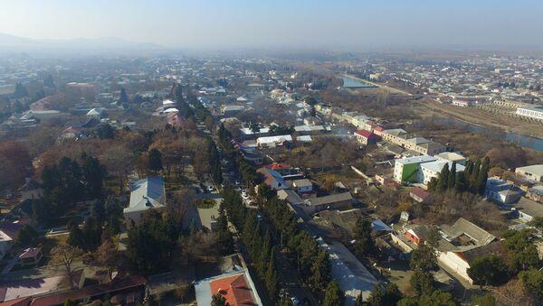 Qazax Rayon İcra Hakimiyyətində yeni su və kanalizasiya layihəsinin təqdimat mərasimi keçirilib - Sputnik Azərbaycan