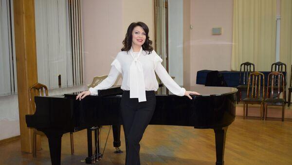 Оперная певица Екатерина Лехина - Sputnik Азербайджан