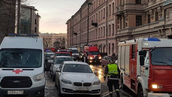 В Петербурге обрушились перекрытия университета - Sputnik Азербайджан