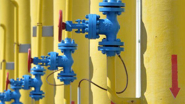 Газовая установка на газоперекачивающей станции на газопроводе - Sputnik Азербайджан