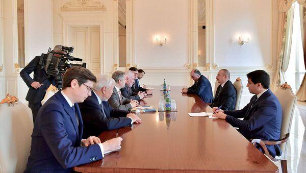 İlham Əliyev ATƏT-in Minsk qrupunun həmsədrlərini qəbul edib - Sputnik Azərbaycan