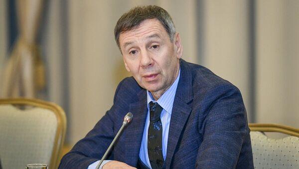 Rusiyalı ekspert və politoloq, Siyasi Araşdırmalar Mərkəzinjn direktoru Sergey Markov - Sputnik Azərbaycan