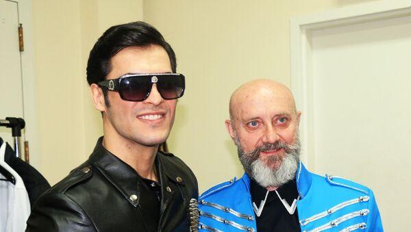 Модель, певец и актер Стефано Суарос (Раджаб Раджабов)  - Sputnik Азербайджан