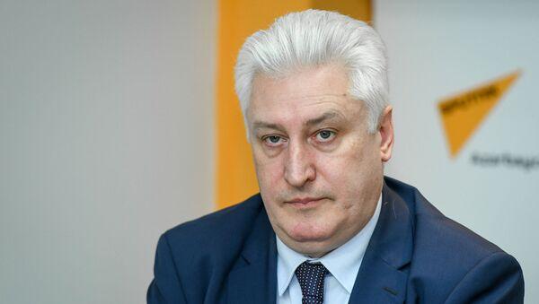 Коротченко Игорь Юрьевич - российский эксперт на ток-шоу, военный эксперт, главный редактор журнала Национальная оборона - Sputnik Азербайджан