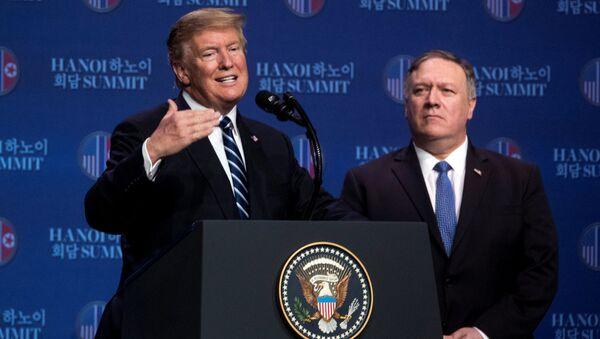 Birləşmiş Ştatlar prezidenti Donald Tramp - Sputnik Azərbaycan