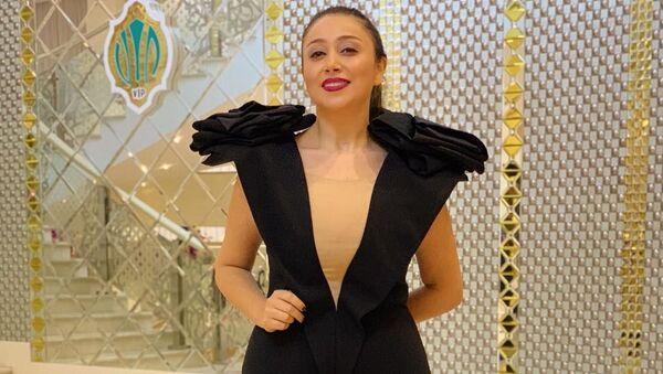 Известная азербайджанская певица Масума Мамедова, более известная в местном шоу-бизнесе под псевдонимном Дамла - Sputnik Азербайджан