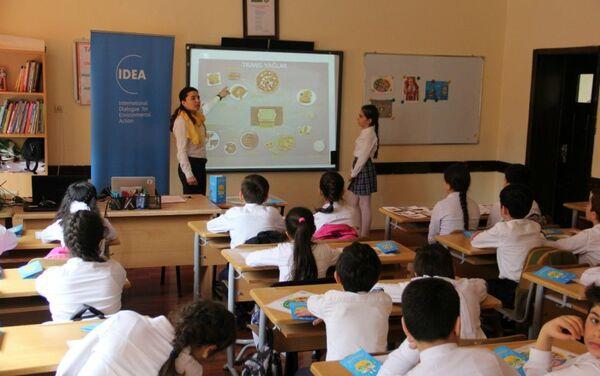 IDEA приступила к реализации проекта пропаганды здорового питания среди молодежи - Sputnik Азербайджан