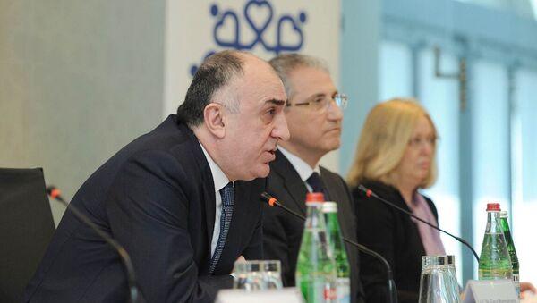 İşğal altında olan ərazilərdə qeyri-qanuni fəaliyyətlərin qarşısının alınması üzrə beynəlxalq konfrans - Sputnik Azərbaycan