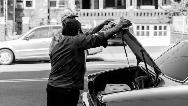 Багажник машины - Sputnik Azərbaycan