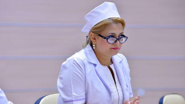 Respublikanın baş mama-ginekoloqu Sevinc Məmmədova - Sputnik Azərbaycan