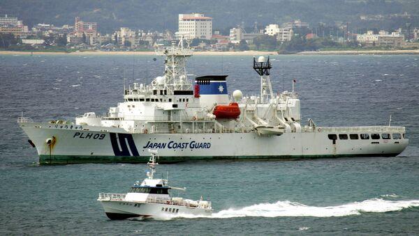 Патрульный катер береговой охраны Японии - Sputnik Азербайджан