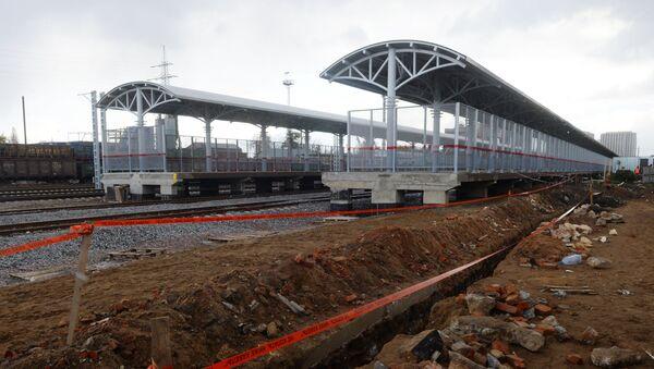 Строительство новой железной дороги - Sputnik Азербайджан